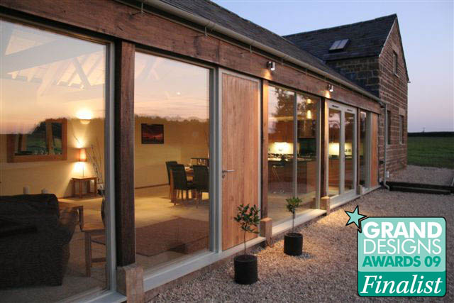 Design and build contractors of 'The Threshing Barn', runner up Grand Designs Award – 'best conversion – 2009′